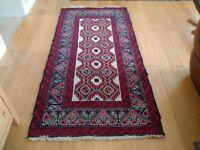 Vintage Wool Carpet/Rug Hand Woven