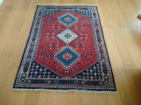 Small Vintage Wool Rug / Carpet