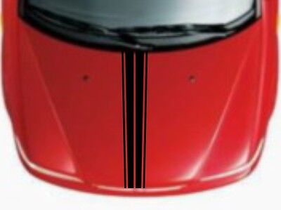 Car Sticker Sport Rally Stripe 5.5''x55'' for Boxster Macan 911 Hood Decal CG365