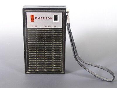 VIintage Emerson 8 Transister AM Radio