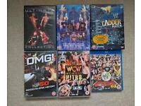 Wrestling DVDs WWE TNA WCW
