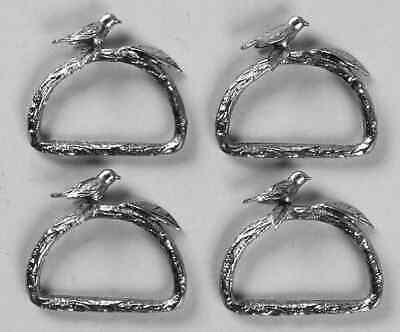 Lenox CHIRP Metal Napkin Ring (Set Of 4) 8238843 Lenox Set Ring