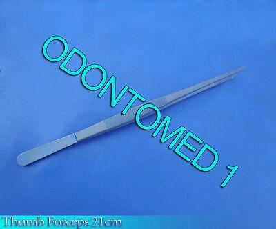 Thumb Forceps 21cm Titanium Surgical Ent Instruments