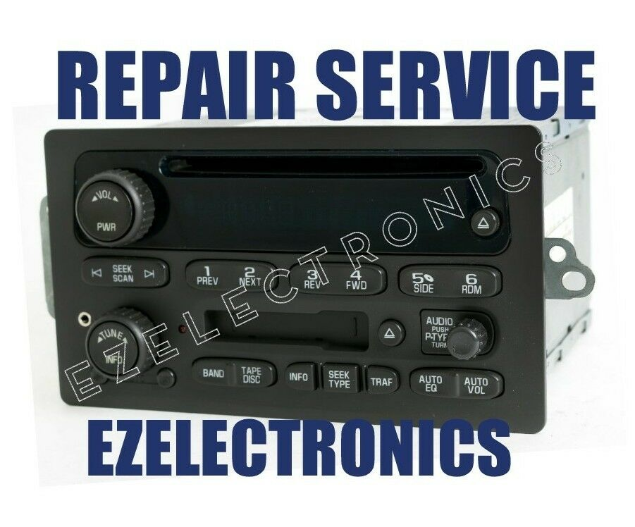 2003 to 2006 CHEVROLET GM RADIO REPAIR SERVICE (ILLUMINATION) 2004 2005