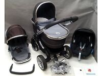 iCandy Peach in Black Jack FULL TRAVEL SYSTEM !!!