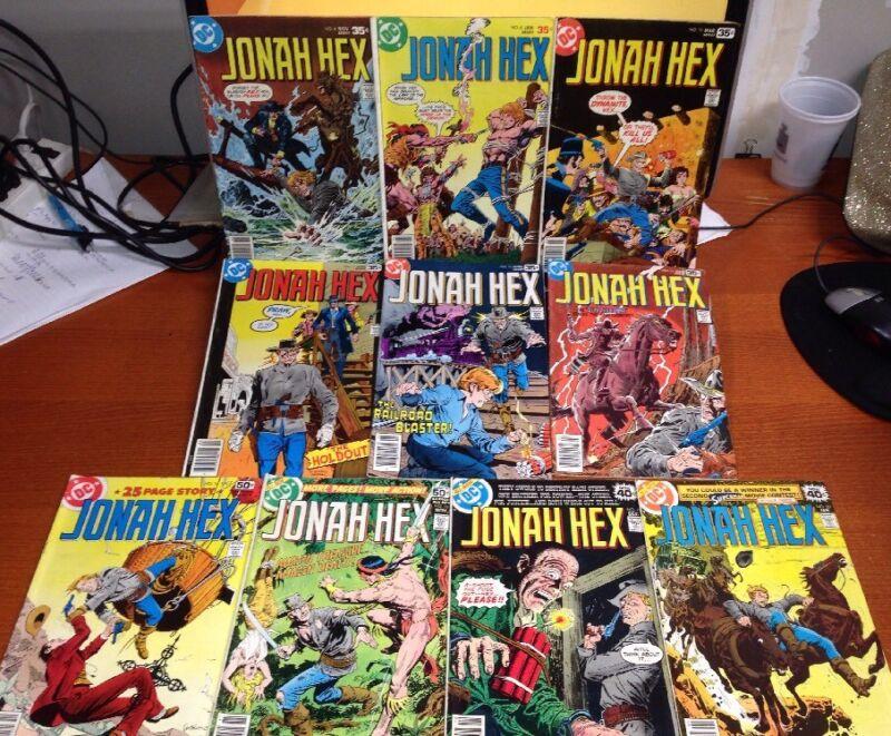 JONAH HEX COMIC BOOKS  Lot of 62 Comics