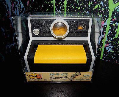 3m Post-it Pop-up Note Dispenser Retro Style Instant Film Camera Design Polaroid