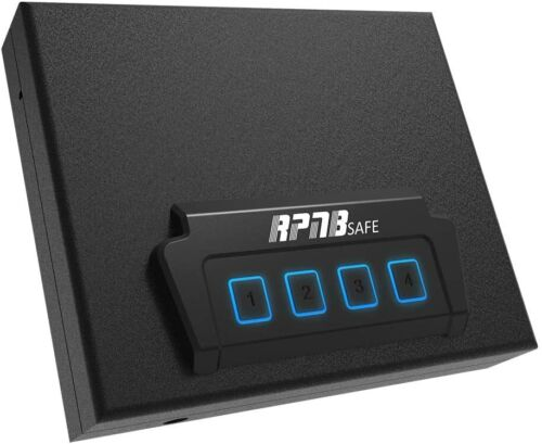RPNB Portable Security Safe Quick-Access Safety Device, OPEN BOX