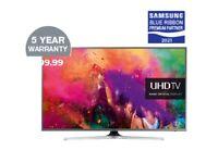 * LIKE NEW SAMSUNGUE60JU6800 SPARES OR REPAIRS PLUS 40 INCH FREE TV