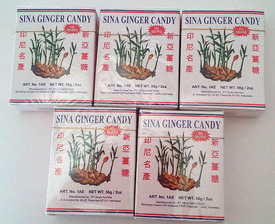 5 pag Ginger Chewy Candy (Ting Ting Jahe) by sina, @ 9pcs = 45pcs, ](Chewy Candy)