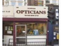 Business for Sale: Opticians in Seven Kings