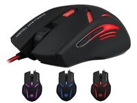 aLLreLi SK-T2 Programmable Optical Gaming Mouse for PC