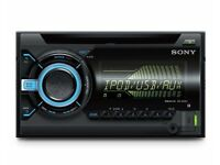 SONY WX-800UI XPLOD DOUBLE DIN 55W CD / MP3 / USB / IPOD CAR STEREO HEAD UNIT