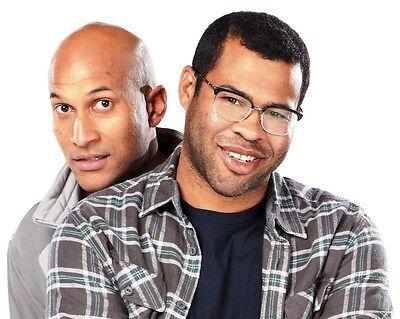 Jordan Peele And Keegan Michael Key Glossy 8X10 Photo