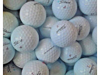 50 TITLEIST PROV 1 USED GOLF BALLS GOOD CONDITION