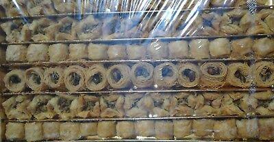 Baklava Assortment Gift Box , Petite gourmet Gift Box. 800g free shipp 80-90 PCS ()