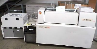 Presstek Dimension 400 Ctp Wexternal Chiller Pat Ue-02ec Computer To Plate