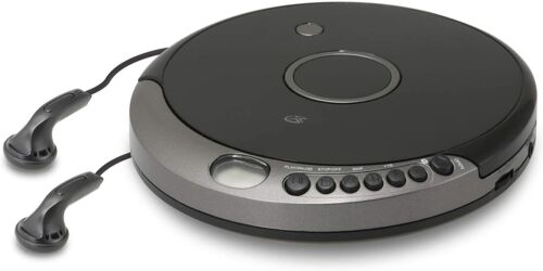 PCB319B GPX Portable Cd Player with Bluetooth, Includes Stereo Earbuds NEW