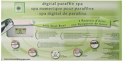 Clean + Easy Digital Paraffin Warmer With Steel Bowl + 6l...