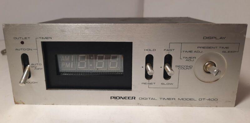 Pioneer Digital Timer Model: DT-400