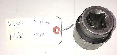 Wright Tools 1 Drive 6 Point Shallow Impact Socket 1-1116 Usa 8854