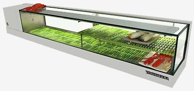 Yoshimasa Sushi Display Case Garasu-7mn Lr 847ft Garasu Nidan Model