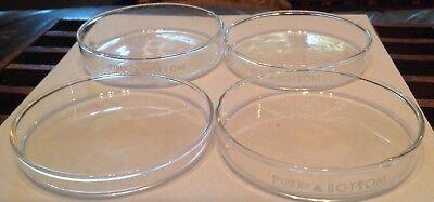 Scientific Lab Glass Pyrex Petri Bottoms 4