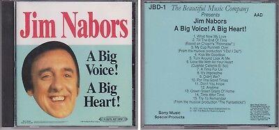 Jim Nabors A Big Voice A Big Heart 1991 Beautiful Music Cd  1972  Classic Hits