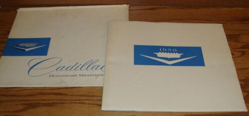 Original 1958 Cadillac Full Line Deluxe Sales Brochure w/ Envelope 58 Eldorado