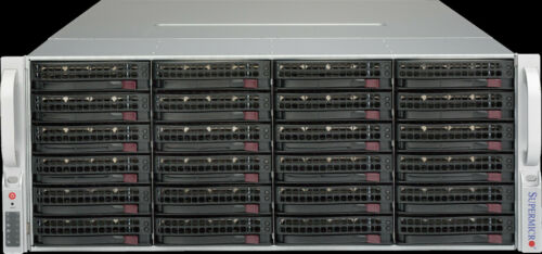 Supermicro CSE-847BE1C-R1K28LPB 4U Server Chassis 2x1280W 36 Bay SAS3-846EL1