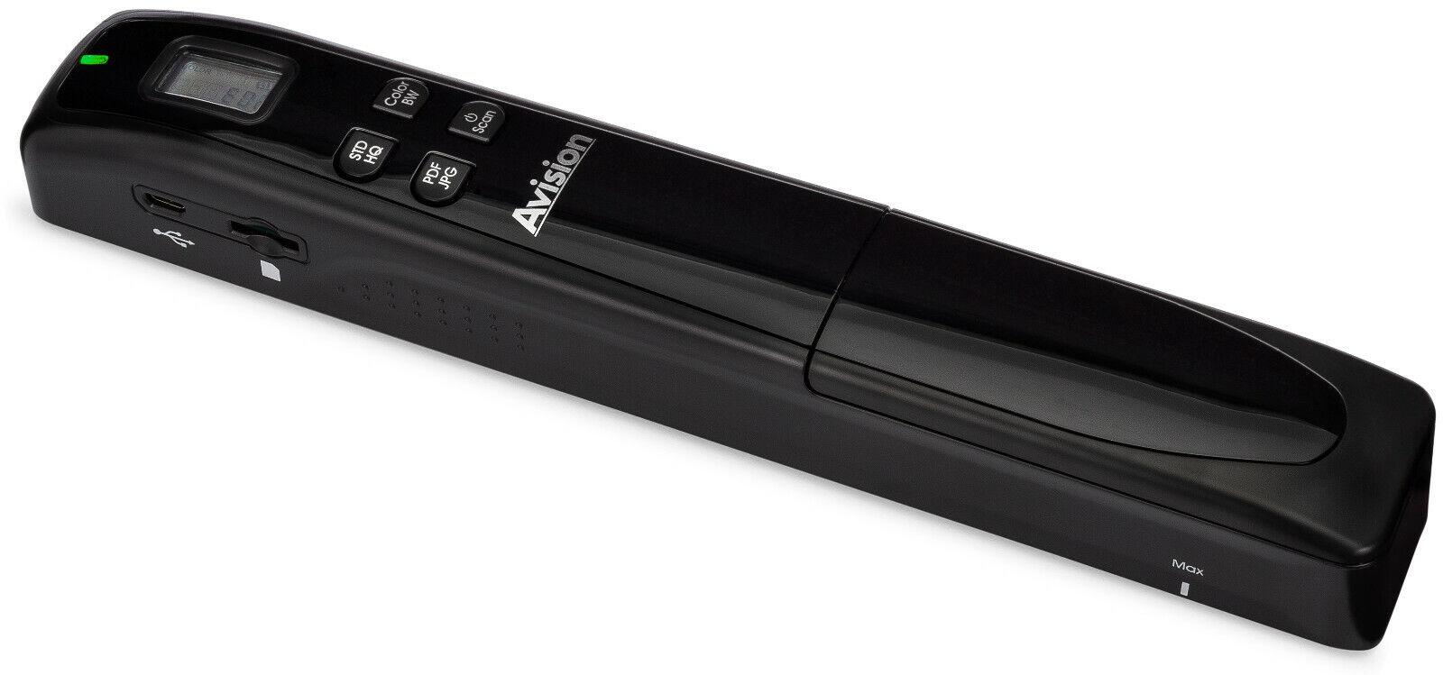 Avision MiWand 2 Lite Portable Photo, Document, Book, Magazi