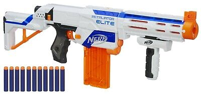 Nerf Guns Elite (Nerf N-Strike Elite Retaliator Blaster Soft Dart Rifle Gun Toy 98696)