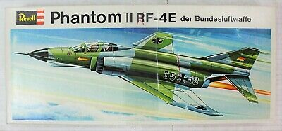 VINTAGE RARE Revell Phantom II RF-4E 1/72 Scale Model Kit H-109