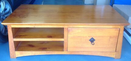 Atlanta Coffee Table With Slide Through Drawer , 1250mm X 650mm Pacific Pines Gold Coast City Preview