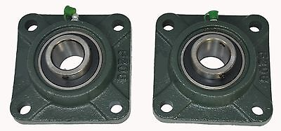 Ucf206-19 1-316 Square 4 Bolt Flange Block Mounted Bearing Unit Qty. 2
