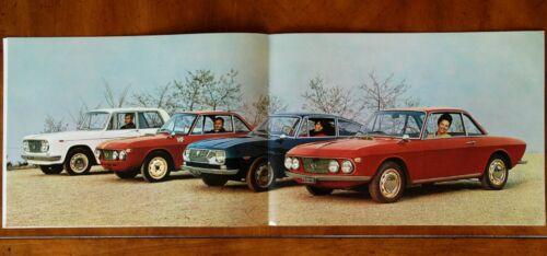 Lancia Fulvia range brochure Prospekt, 1967 (German text)