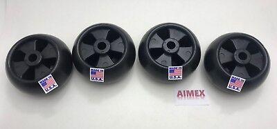 4 John Deere Deck Wheel OEM Spec 5X2 A15 AM-116299,M111489,M11149,AM133602 Cadet