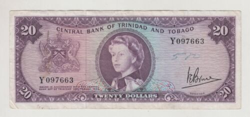 Trinidad and Tobago 1964 20 dollars J.E.Bruce Used