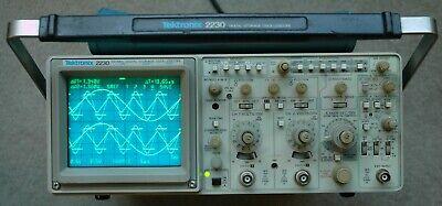 Tektronix 2230 100mhz Digital Oscilloscope Calibrated Two Probes Power Cord