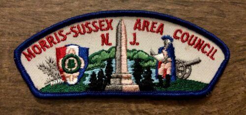 NOS Morris-Sussex Area Council New Jersey BSA Shoulder Patch