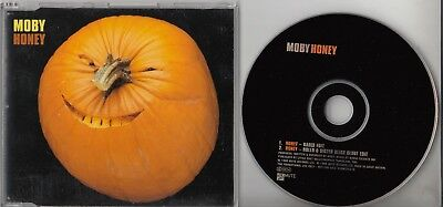 MOBY Honey 1998 UK 2-track promo CD Rollo & Sister Bliss Remix