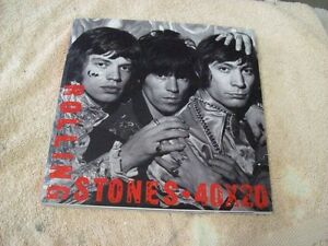ROLLING STONES 40 X 20 HISTORY BOOK