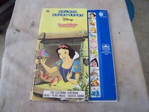 SNOW WHITE SOUND AND STORY BOOK
