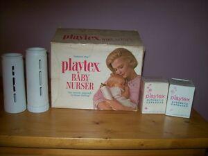playtex baby bottles/vintage bottles