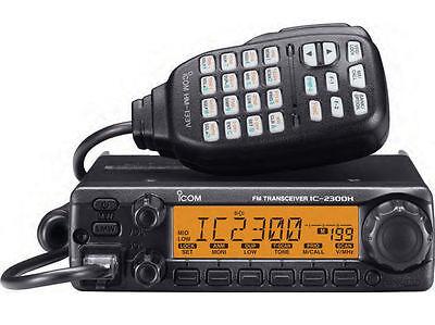 ICOM 2300H VHF 136-174MHz 65 Watt Field Programmable Mobile Two Way Radio