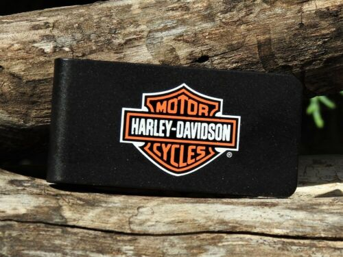 Zippo Lighter - Harley Davidson Money Clip - Bar and Shield Logo- # 741BHD H252