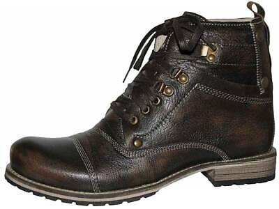 Country Maddox Trachten Stiefel Boots Schuhe moor braun Herren Gr. 42 43 46