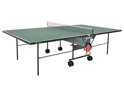 Gebraucht, Sponeta S 1-12e Tischtennisplatte outdoor grün mit Netz wetterfest gebraucht kaufen  Deutschland