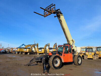 2012 Jlg G10-55a 55 10k Telescopic Reach Forklift Telehandler Cab Ac Biadaoo