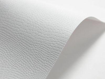 5x Karton A4 220g Dekorativ Geprägtes Kartenpapier Papier Kartengestaltung Weiß